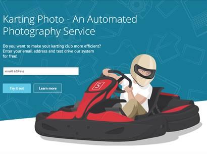 Сервис автоматизации фотосъемки Karting Photo